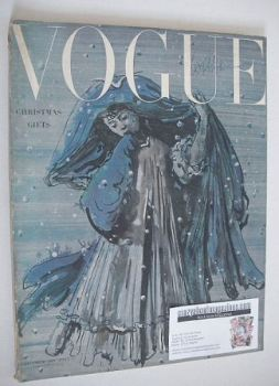 British Vogue magazine - December 1949 (Vintage Issue)