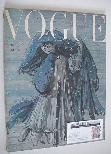 <!--1949-12-->British Vogue magazine - December 1949 (Vintage Issue)
