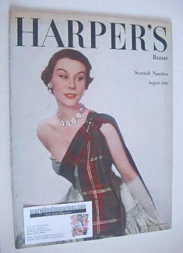 <!--1950-08-->Harper's Bazaar magazine - August 1950