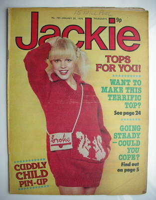 <!--1979-01-20-->Jackie magazine - 20 January 1979 (Issue 785)