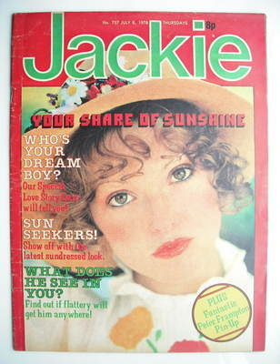 <!--1978-07-08-->Jackie magazine - 8 July 1978 (Issue 757)