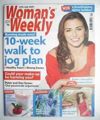 <!--2007-07-24-->Woman's Weekly magazine (24 July 2007 - British Edition)