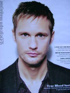 <!--2010-08-14-->Telegraph magazine - Alexander Skarsgard cover (14 August