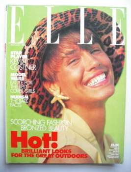 British Elle magazine - August 1989