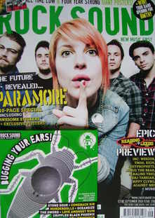 <!--2010-09-->Rock Sound magazine - Paramore cover (September 2010)