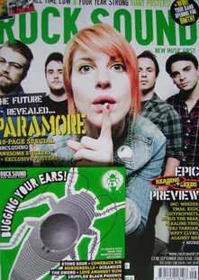 Rock Sound magazine - Paramore cover (September 2010)