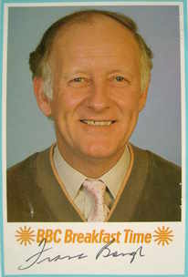 Frank Bough autograph (hand-signed photograph)