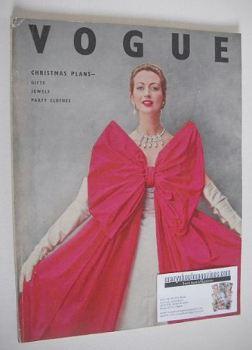 British Vogue magazine - December 1951 (Vintage Issue)