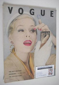 British Vogue magazine - August 1953 (Vintage Issue)