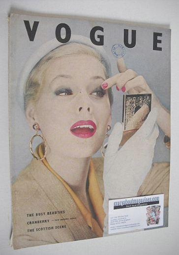 <!--1953-08-->British Vogue magazine - August 1953 (Vintage Issue)