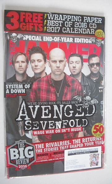 <!--2017-01-->Metal Hammer magazine - Avenged Sevenfold cover (January 2017