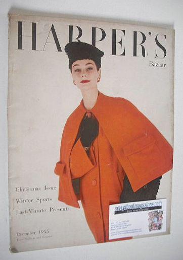<!--1955-12-->Harper's Bazaar magazine - December 1955