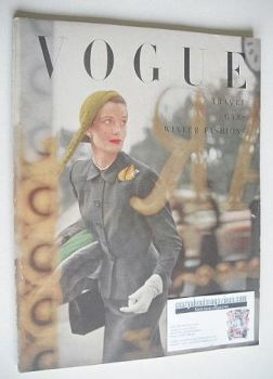 British Vogue magazine - November 1949 (Vintage Issue)