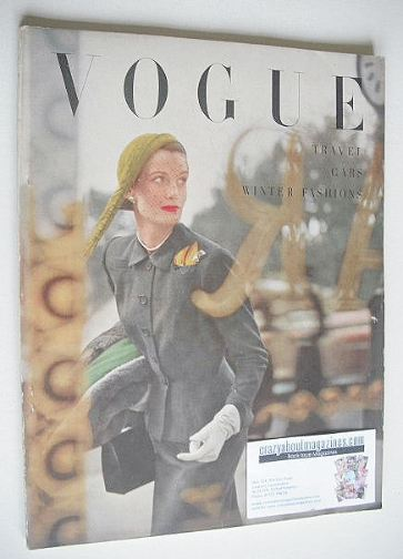 <!--1949-11-->British Vogue magazine - November 1949 (Vintage Issue)