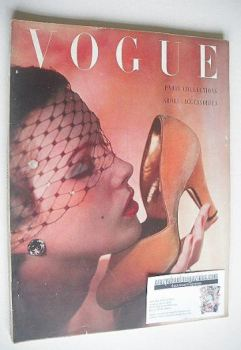 British Vogue magazine - October 1950 (Vintage Issue)