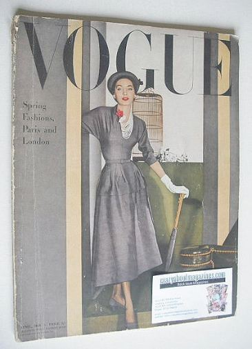 <!--1948-04-->British Vogue magazine - April 1948 (Vintage Issue)