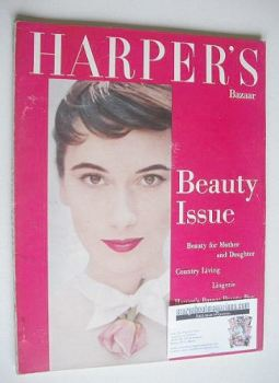Harper's Bazaar magazine - July 1955