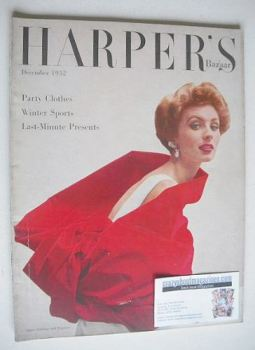 Harper's Bazaar magazine - December 1952