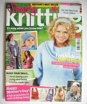 Simply Knitting magazine (Issue 26 - April 2007)