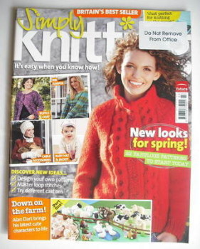 Simply Knitting magazine (Issue 25 - March 2007)
