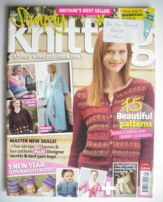 Simply Knitting magazine (Issue 23 - January 2007)