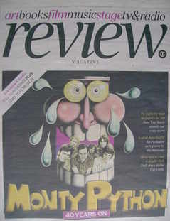 The Daily Telegraph Review newspaper supplement - 3 October 2009 - Monty Py