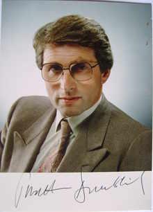 Jonathan Dimbleby autograph