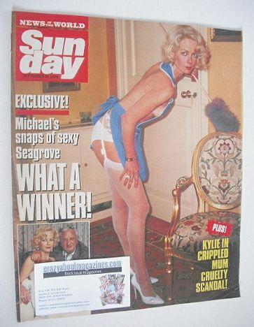 <!--1989-09-24-->Sunday magazine - 24 September 1989 - Jenny Seagrove cover