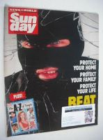 <!--1989-10-08-->Sunday magazine - 8 October 1989 - Beat Crime cover