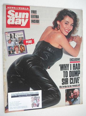<!--1989-10-15-->Sunday magazine - 15 October 1989 - Bernadette Tynan cover