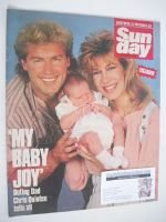 <!--1989-10-29-->Sunday magazine - 29 October 1989 - Chris Quinten cover