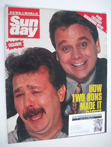 <!--1989-11-19-->Sunday magazine - 19 November 1989 - Hale and Pace cover