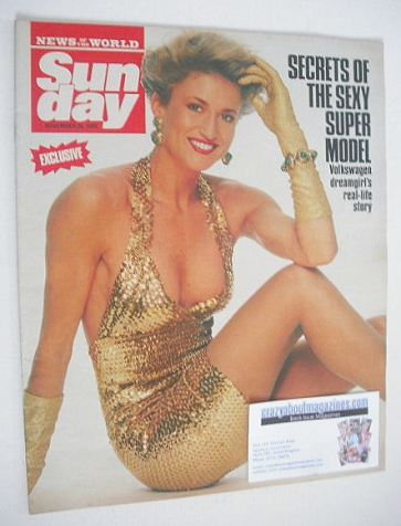 <!--1989-11-26-->Sunday magazine - 26 November 1989 - Paula Hamilton cover