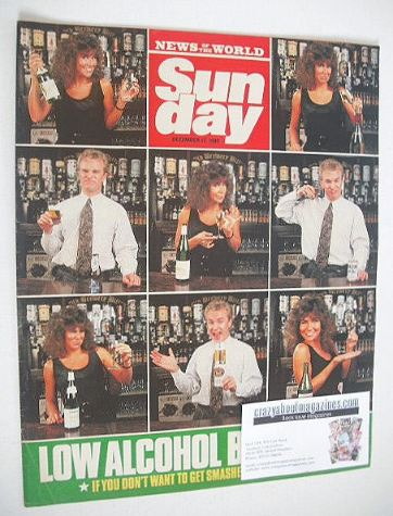 <!--1989-12-17-->Sunday magazine - 17 December 1989 - Low Alcohol Booze Tes