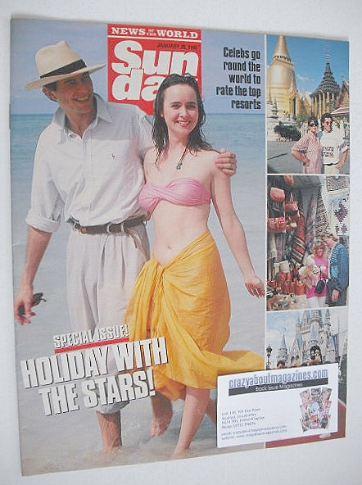 <!--1990-01-28-->Sunday magazine - 28 January 1990 - Holiday With The Stars