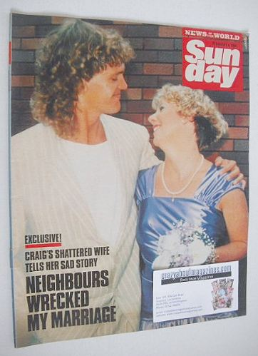 <!--1990-02-04-->Sunday magazine - 4 February 1990 - Craig McLachlan cover