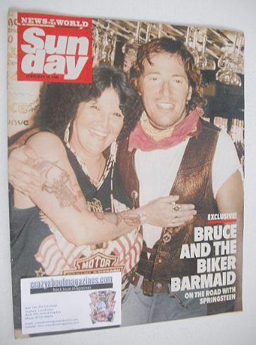<!--1990-02-18-->Sunday magazine - 18 February 1990 - Bruce Springsteen cov