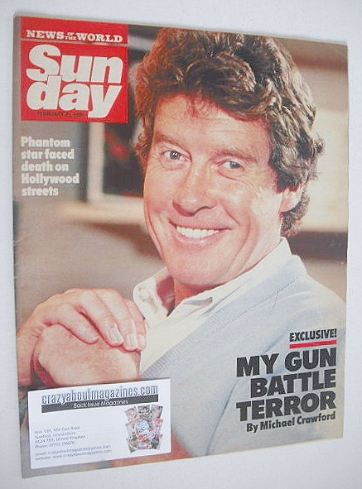 <!--1990-02-25-->Sunday magazine - 25 February 1990 - Michael Crawford cove