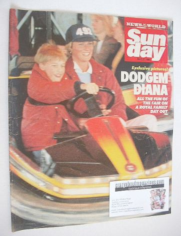 <!--1990-05-27-->Sunday magazine - 27 May 1990 - Princess Diana cover