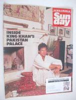 <!--1990-06-10-->Sunday magazine - 10 June 1990 - Imran Khan cover