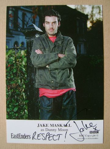 Jake Maskall autograph (ex EastEnders actor)