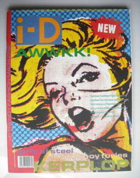 i-D magazine - The Heroes and Sheroes cover (October 1988 - Issue 63)