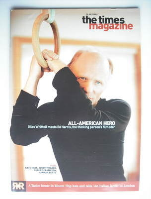 <!--2003-07-12-->The Times magazine - Ed Harris cover (12 July 2003)