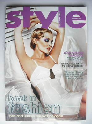 <!--2006-09-17-->Style magazine - Kylie Minogue cover (17 September 2006)