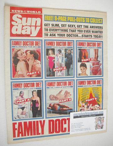 <!--1989-02-05-->Sunday magazine - 5 February 1989 - Family Doctor Diet cov