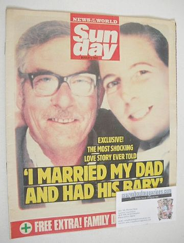 <!--1989-03-05-->Sunday magazine - 5 March 1989 - The Most Shocking Love St