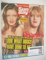 <!--1989-03-12-->Sunday magazine - 12 March 1989 - Terri Ellis cover