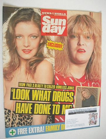 <!--1989-03-12-->Sunday magazine - 12 March 1989 - Terri Ellis cover
