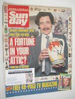 <!--1989-03-19-->Sunday magazine - 19 March 1989 - David Battie cover