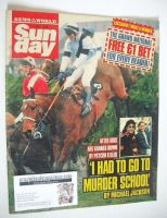 <!--1989-04-02-->Sunday magazine - 2 April 1989 - The Grand National cover